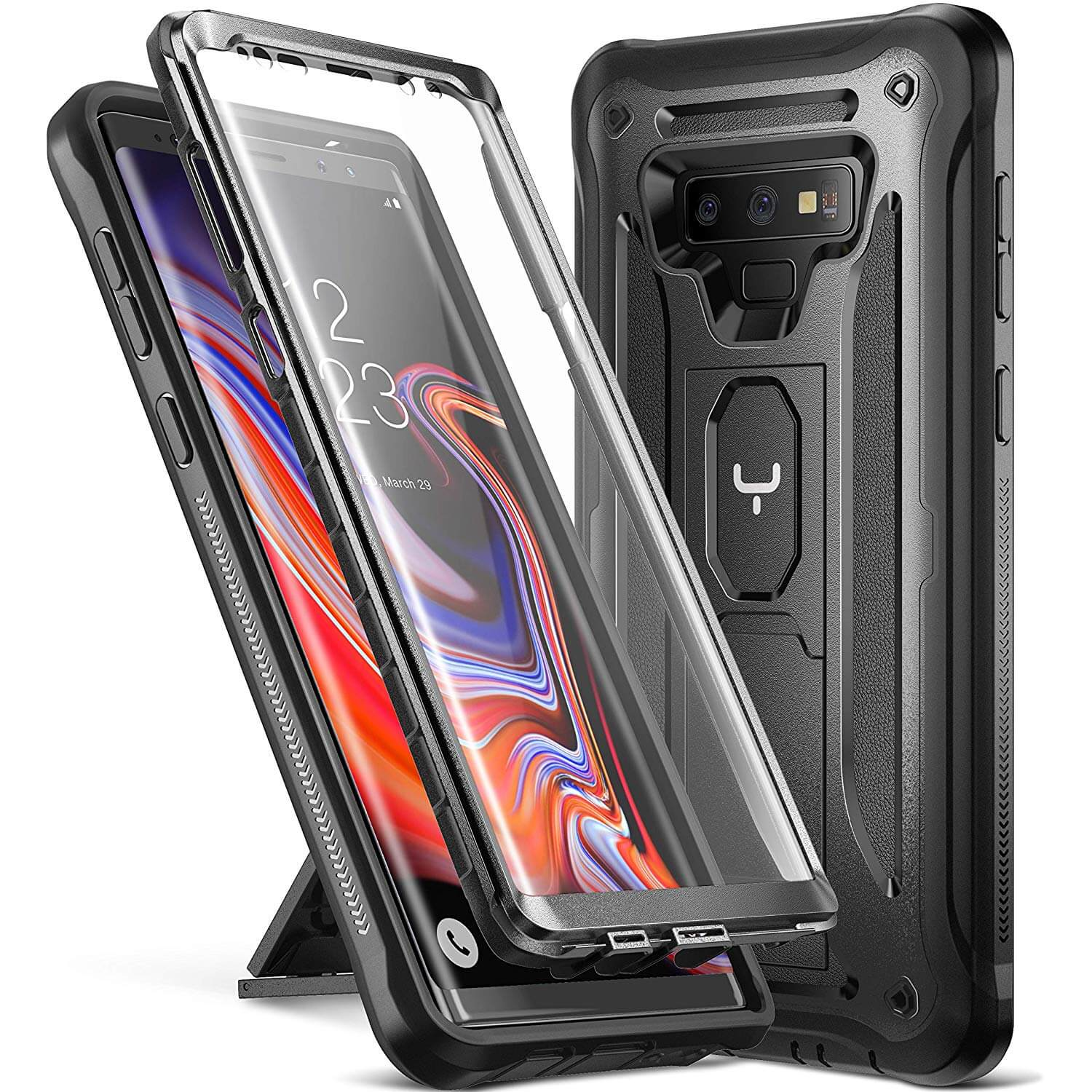 top rated Galaxy Note 9 cases with Kickstand