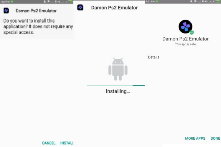 ps2 emulator for android with bios