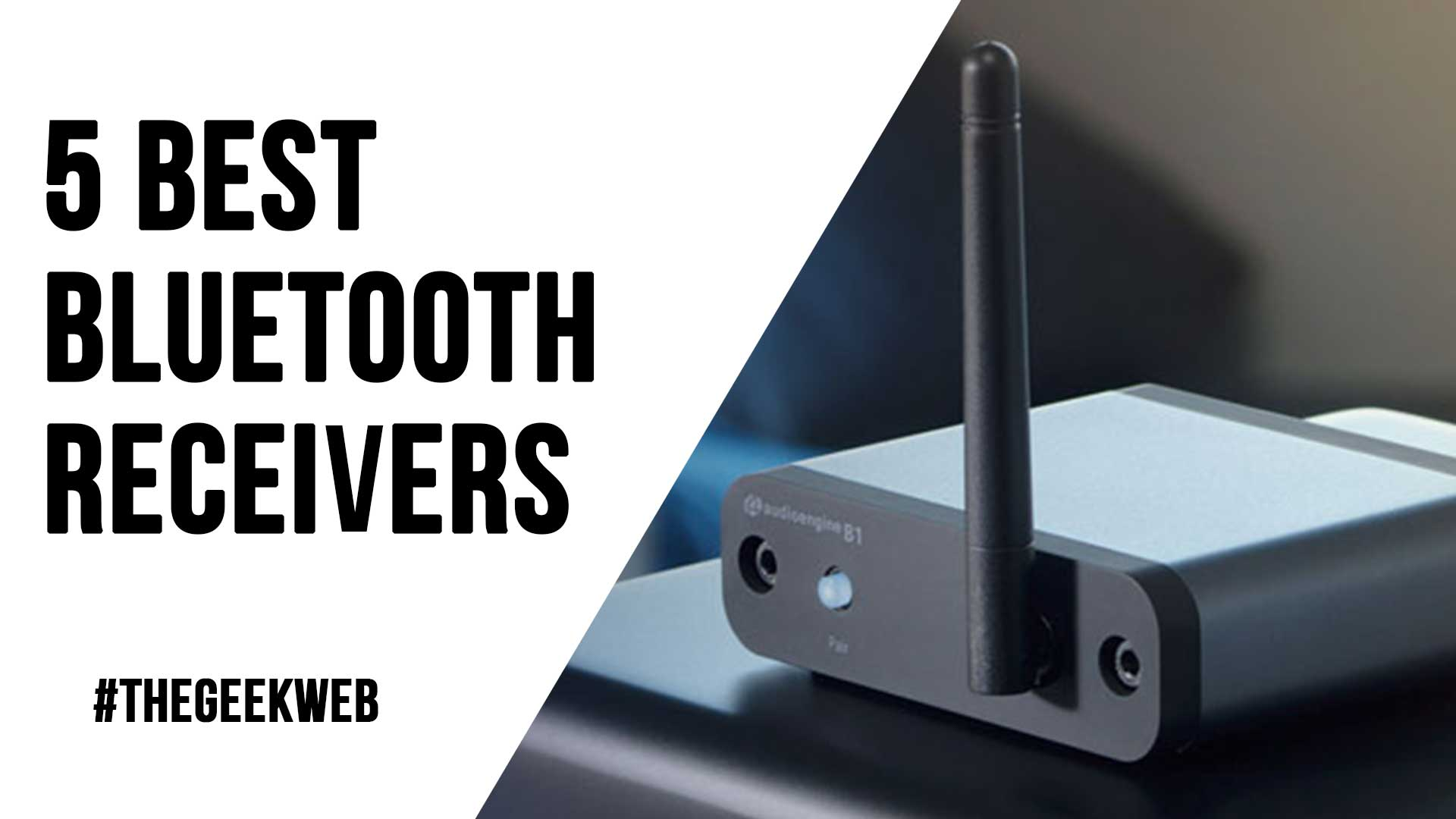 5 Best Bluetooth Receivers in 2020