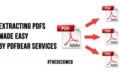Extracting PDFs Made Easy By PDFBear Services