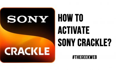How to Activate Sony Crackle