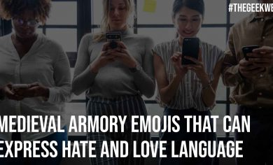 Medieval Armory Emojis That Can Express Hate And Love Language