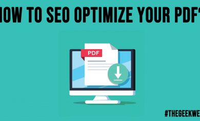 How to SEO Optimize Your PDF