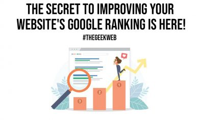 The Secret to Improving Your Websites Google Ranking is Here