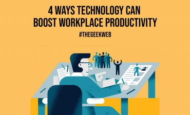 4 Ways Technology Can Boost Workplace Productivity