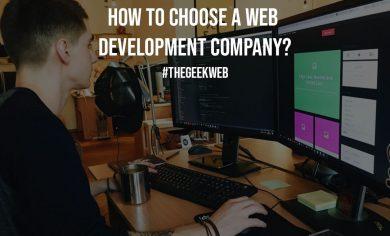 How to Choose a Web Development Company